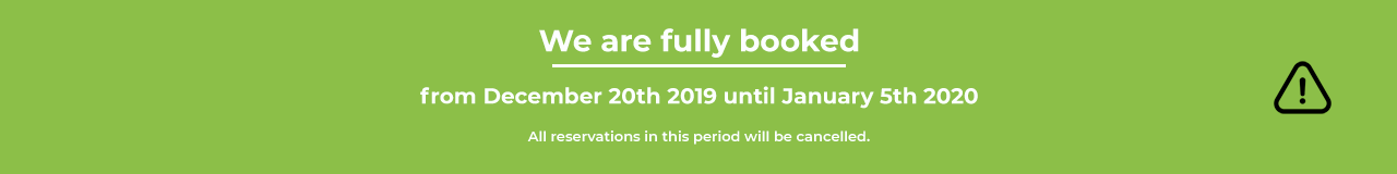 We are fully booked
